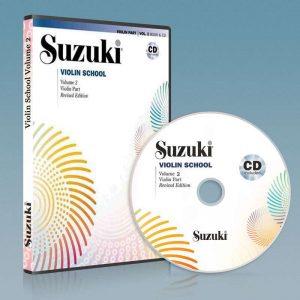 ویولون سوزوکی جلد دوم به همراه فایل صوتی