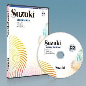 ویولون سوزوکی جلد هفتم به همراه فایل صوتی