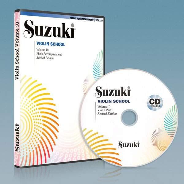 ویولون سوزوکی جلد دهم به همراه فایل صوتی