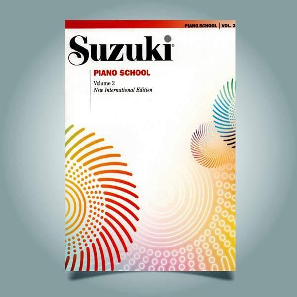 دانلود کتاب پیانو سوزوکی جلد دوم