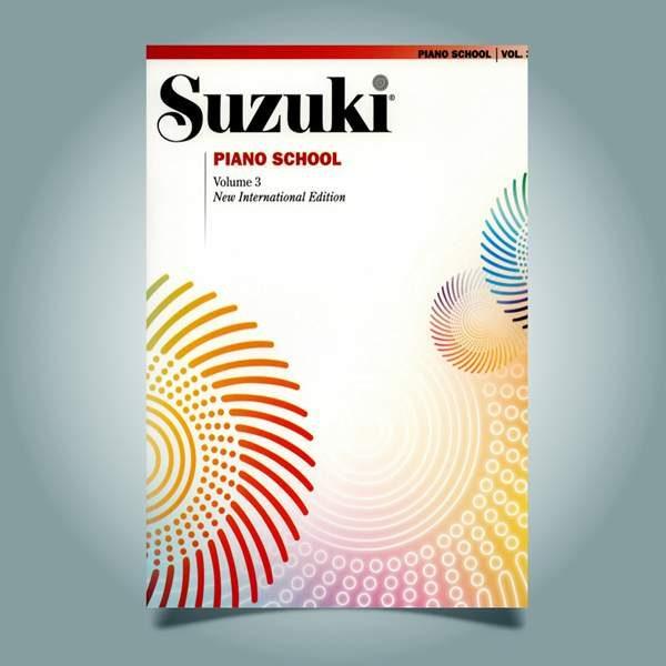 دانلود کتاب پیانو سوزوکی جلد سوم