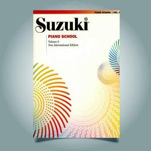 دانلود کتاب پیانو سوزوکی جلد ششم