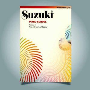 دانلود کتاب پیانو سوزوکی جلد پنجم