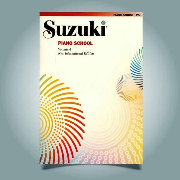 دانلود کتاب پیانو سوزوکی جلد چهارم
