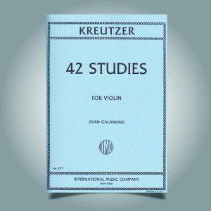 ۴۲ اتود کروتزر همراه فایل صوتی