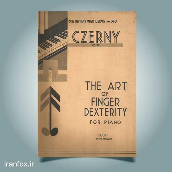 دانلود کتاب آموزش پیانو کارل چرنی