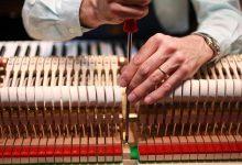 تصویر نحوه تنظیم پیانو: راهنمای داخلی ساز