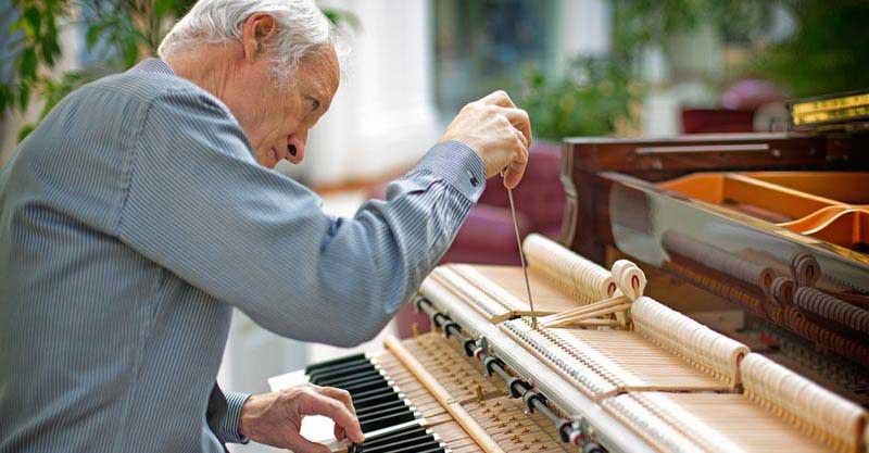 تنظیمات مربوط به رگلاژ پیانو